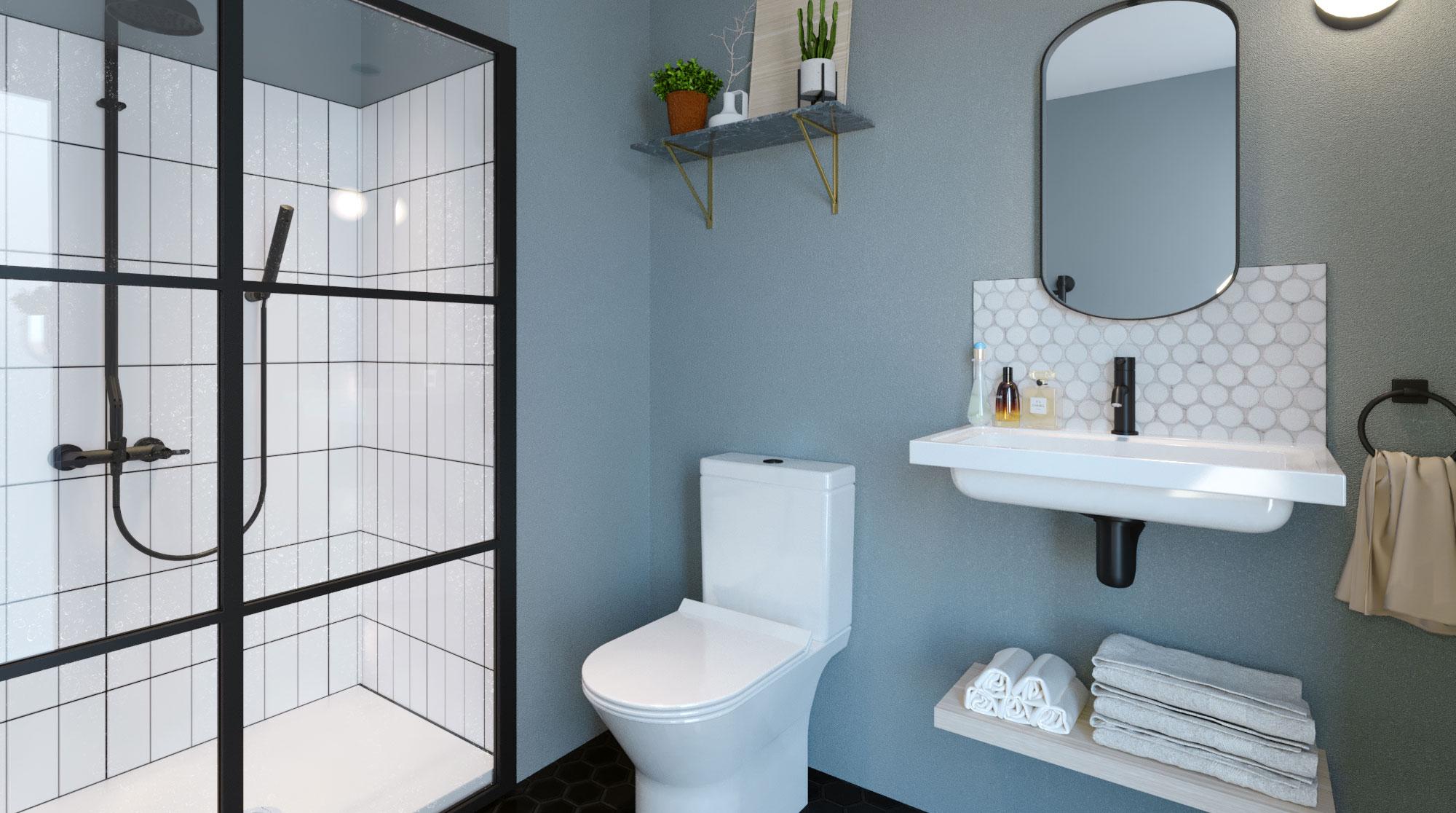 Bathrooms at Hy