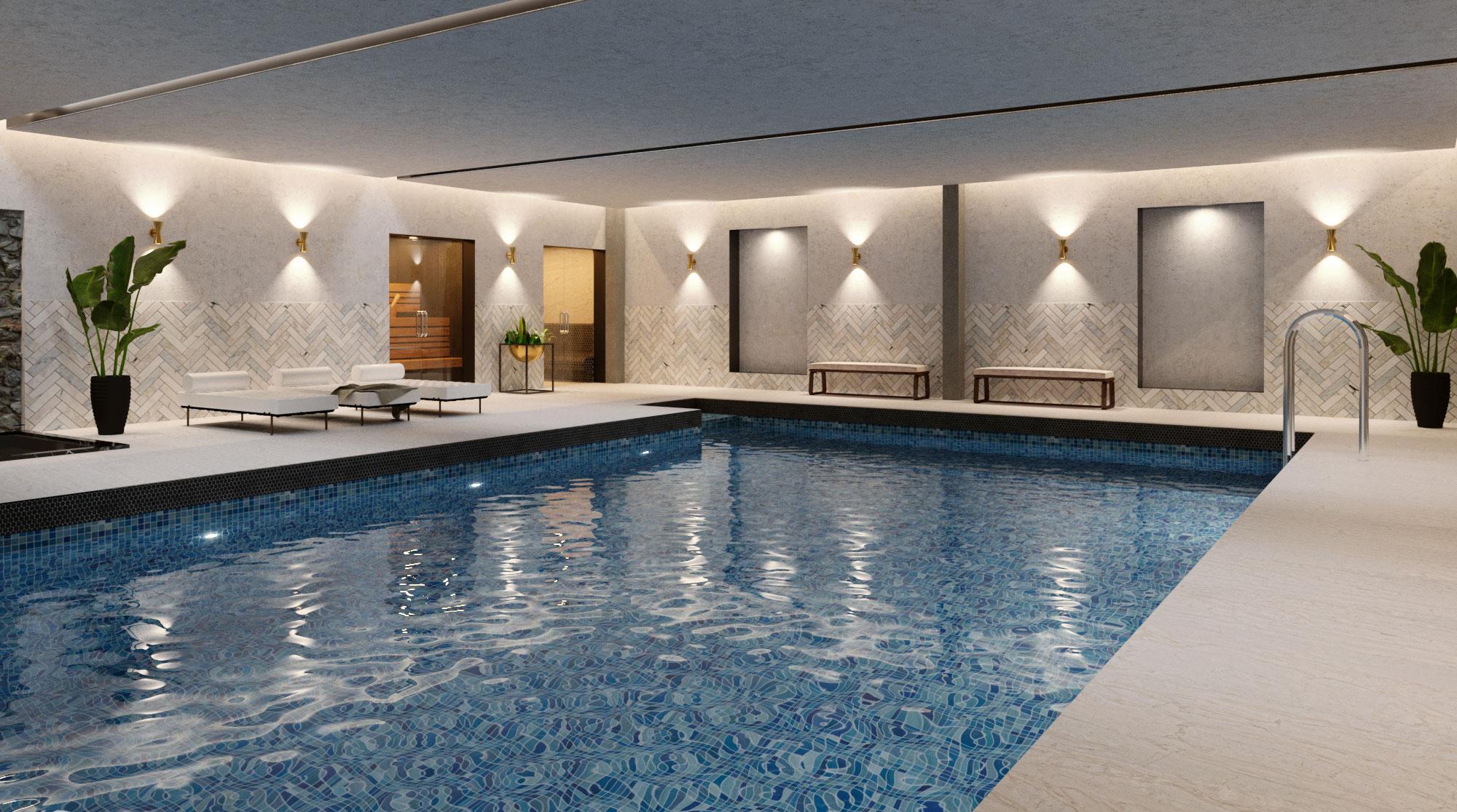 Swimming Pool at Hy